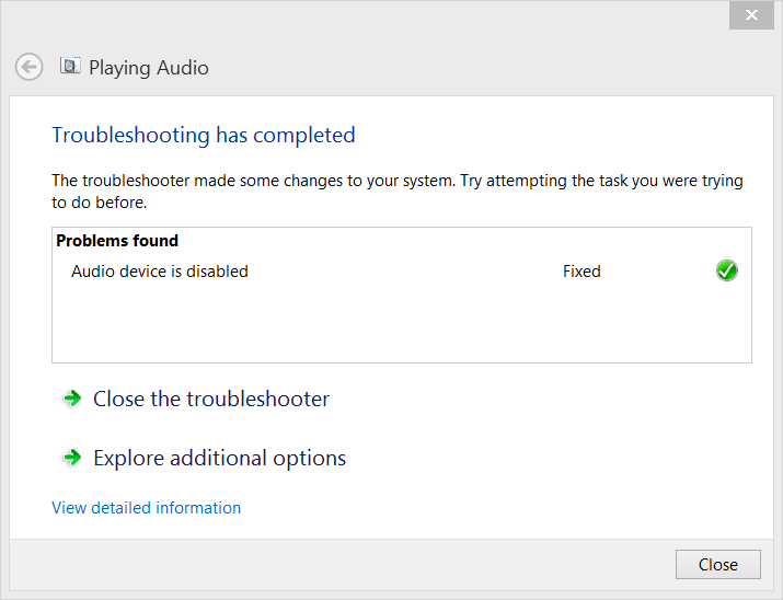 Then, click 'Troubleshoot sound problems'